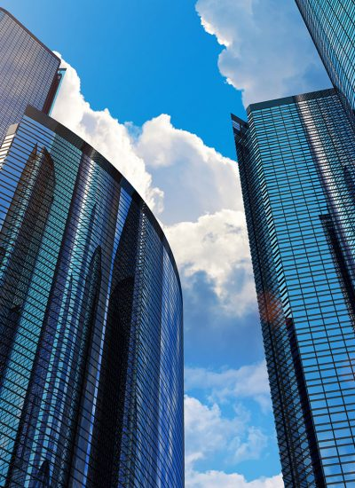 Reward_technology_Unifiid_and_Unifi.id_smart_building_tall_glass_buildings